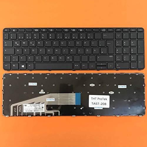 DEUTSCHE - Tastatur Keyboard ohne Beleuchtung kompatibel für P/N: 831023-BG1