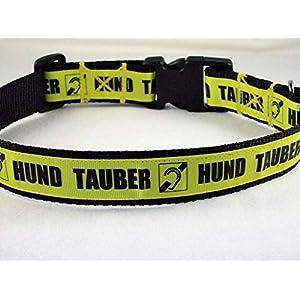 """Halsband""""Tauber Hund"""" bis 55 cm Halsumfang"""
