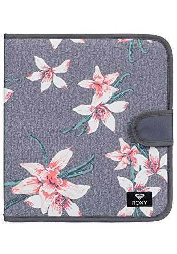 Roxy What A Day - Carpeta de 4 Anillas, Mujer, Talla Única, Rosa/Gris