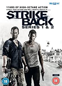 Strike Back - Series 1 & 2 (Chris Ryan's Strike Back + Strike Back: Project Dawn) [DVD]