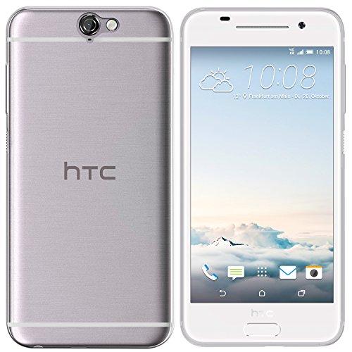 moodie Silikonhülle für HTC One A9 Hülle in Transparent - Case Schutzhülle Tasche für HTC One A9