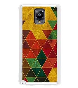 Multi colour Triangular Wallpaper 2D Hard Polycarbonate Designer Back Case Cover for Samsung Galaxy Note 3 :: Samsung Galaxy Note III :: Samsung Galaxy Note 3 N9002 :: Samsung Galaxy Note N9000 N9005
