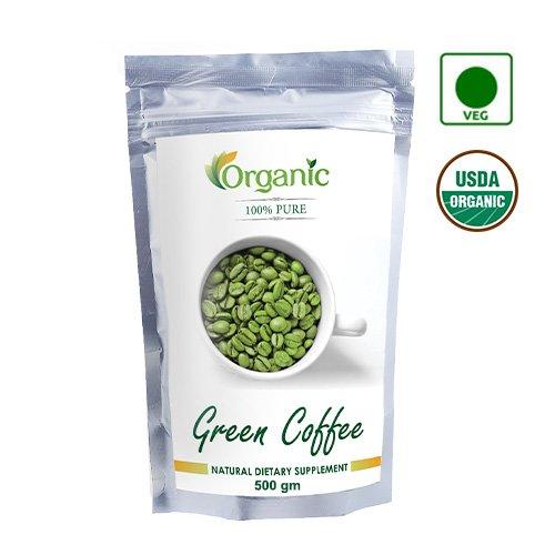 Perennial Lifesciences 100 Pure Organic Green Coffee Beans