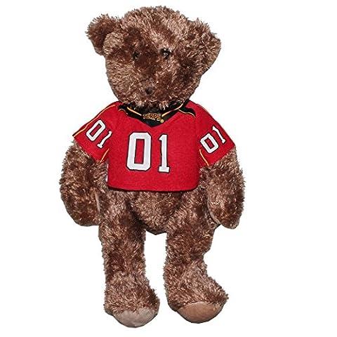 NCAA Maryland Terrapins Plüsch-Maskottchen Bär Pillow mit Jersey Braun & Rot