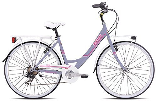 LEGNANO BICICLETA TROPEA LADY 261URBAN 26X 1-3/8TALLA 466V LILA (CITY)/BICYCLE TROPEA LADY 261URBAN 26X 1-3/8SIZE 466S LILAC (CITY)