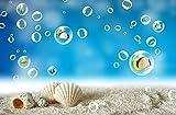 Poowef 3D Wallpaper 3D Il Mondo Subacqueo Di Pesci Marini Di Grande Murales Wallpaper Lo Sfondo Del Televisore Sulla Parete Del Guscio Di Alloggiamento Carta A Parete