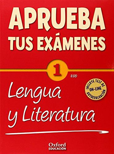 Aprueba tus Exámenes: Lengua Castellana y Literatura 1º ESO Pack: Cuaderno Test 14-9788467385878