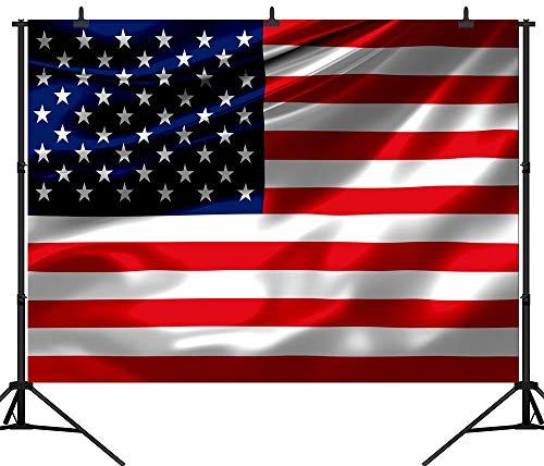(Aliyz PGT063C Fotohintergrund, nahtlos, amerikanische Flagge, 25,4 x 2,4 m)