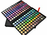 Gracelaza 168 Farben Lidschatten Makeup Paletten - Satte Farben Kosmetik Eyeshadow Palette - Ideal Augenschatten Make Up Etui Box
