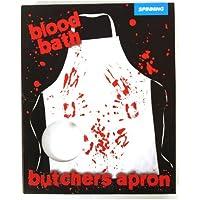 Delantal del baño de sangre del carnicero