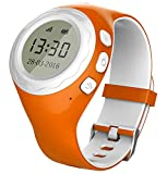 Pingonaut Kidswatch – Kinderuhr mit GPS mit Telefonfunktion, Smartwatch für Kinder mit GPS-Tracker-App und SOS-Funktion, Softwareentwicklung & Hosting in Deutschland, SIM-Karte Inclusive, Orange