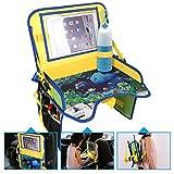 ECOOLBUY Multi Funktionen Kinder Reise Auto Sitz Tragbar Spiel Essen Tray Lagerung Buggy Pushchair Lap Adjustable