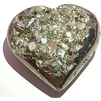 Kraftvoller 182 g goldener Pyrit 57 mm Herz Bergkristall Heilstein Metaphysischer Edelstein Reiki Feng Shui Geschenk... preisvergleich bei billige-tabletten.eu