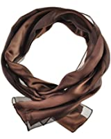 Classic Plain Shiny Scarf - Light Weight & SOFT Silky Satin Chiffon Strip Fabric - Luxurious Finishing Touch To Any Outfit, Perfect Daily Neck Scarves Wrap For Men & Women