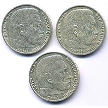 Suchergebnis Auf Amazonde Für Münze 2 Reichsmark 1938 Hindenburg