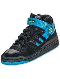Adidas Forum MID Zapatillas Deportivas Trainers cuero negro