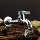 Hlluya Rubinetto lavabo Bagno Cucina La rondella di Rame rubinetti, esteso Completamente Automatica ugello Acqua Piscina mops raccordi, Grosso Cazzo,