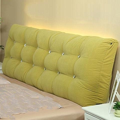 BSNOWF- Coussins doubles Tissu souple Tissu Grande taille du coussin du dossier En option ( taille : 150*58*15cm )