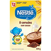 Nestlé - Junior Papillas 8 Cereales Con Cacao A Partir De 12 Meses ...