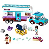 LEGO Friends 41125 Horse Vet Trailer Building Kit (370 Piece) by LEGO