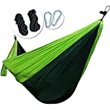 REAMIC(Big Discount today to 4.20) Hiking camping portable small and exquisite package hammock outdoor beds straps and steel ring includes have 2 rope