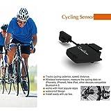 Compteur de Vitesse Tachymètre Vélo OUTAD Sans fil Bluetooth ANT Étanche Vélo Odomètre Vitesse et Fréquence Capteur Chronotachymètre avec APP pour Appareil Android et IOS