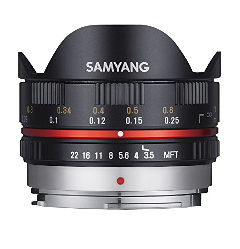 Samyang 7.5mm F3.5 UMC Fish-eye Objektiv Micro Four Third