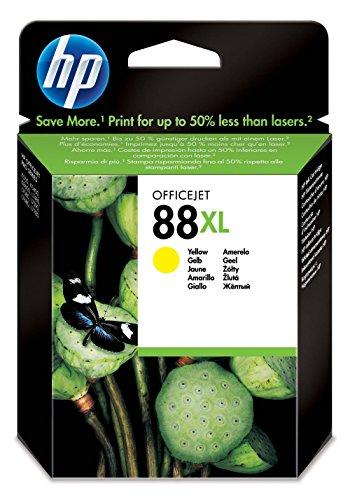 HP N°88 Cartouche d'encre d'origine Jaune