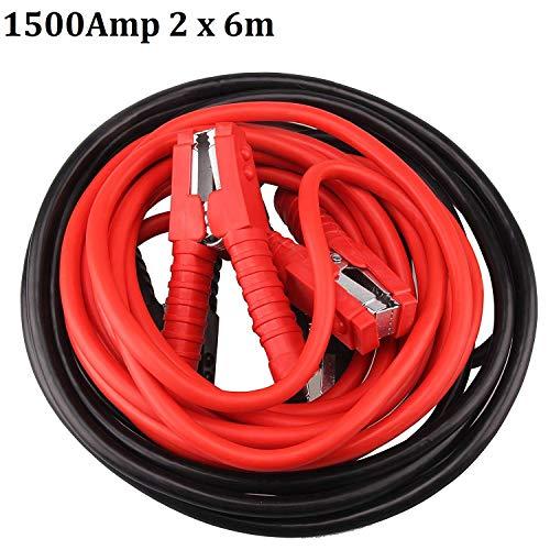 MultiWare Starthilfekabel Set Überbrückungskabel Starterkabel Kabel 1500Amper 2x6m KFZ PKW