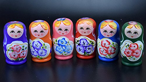 YEAH67886creative Beautiful russo five-story matrioske Travel Crafts