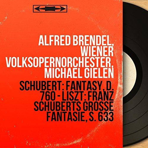 """Franz Schuberts Grosse Fantasie, Op.15, S. 653 """"Wanderer-Fantasie"""": I. Allegro con fuoco ma non troppo"""