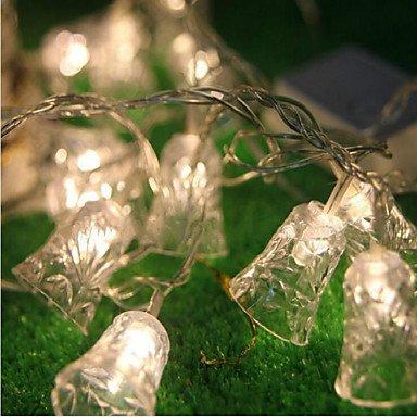 esign Weihnachten Neuartige Gute Qualität Halloween Party Dekoration Weihnachtsbäume Verzierungen Leuchtgirlanden,Warmwhite ()