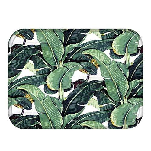 Iron Cross Hat (FeiXing158 Tropisches Regenwald-Grün lässt willkommene Fußmatten-Wolldecken-Flanell-Gleitschutzküchen-Badezimmer-Flur-Fußmatten)