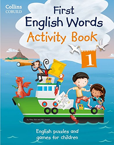 Activity Book 1: Age 3-7 (Collins First English Words)