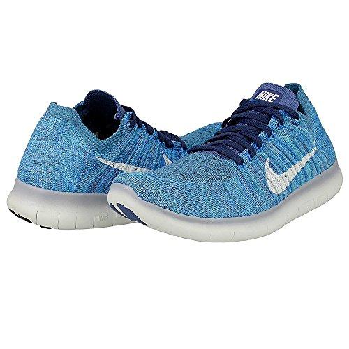 Nike, Damen Stiefel & Stiefeletten, blau - Ocean Fog/White-Blue Glow - Größe: 46 EU