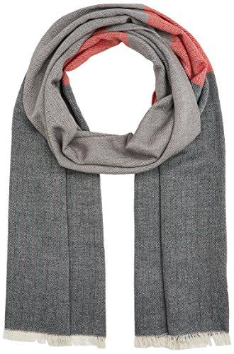 s.Oliver Herren Schal 97709915040 Grau (Grey/Black Stripes 94G1), One Size