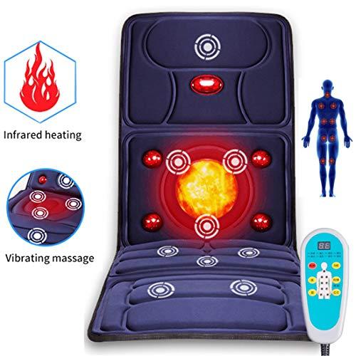 Elektrische Zurück Massager Stuhl Kissen Vibrator Tragbare Hause Auto Büro Hals Lenden Taille Schmerzen Relief Sitz Pad Entspannen Matte -
