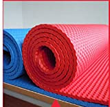 SpessoNbrTappetino Yoga 10 MillimetriVerde Yoga Gomma Tappetino Yoga Esercizio Stuoia Tappeto Rosso Cinese