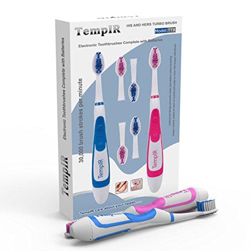 Elektrische Zahnbürste mit 2 Handstücken
