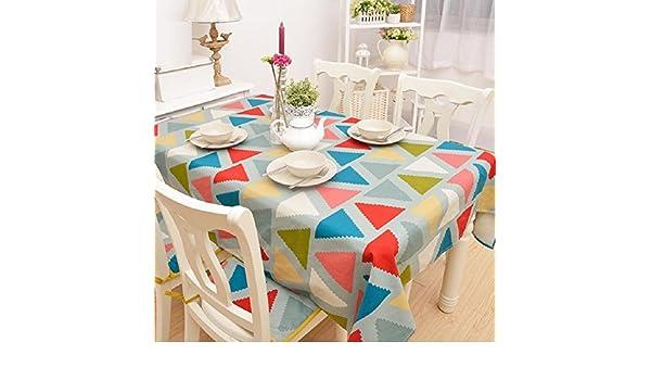 ZC&J Einfache Persönlichkeit Mode Tischdecke dekoriert Tischdecken ...