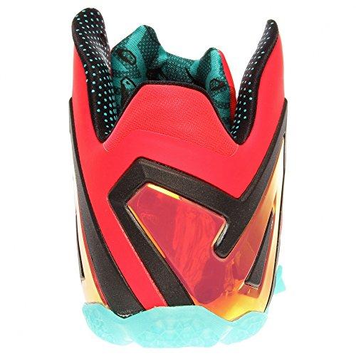 Nike Lebron XI Elite (107) laser crimson/turbo green-black 600