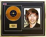 Everythingcollectible James Blunt/Mini Metal Gold Disc & Photo Display/ÉDITION LIMITÉE/COA/Moon Landing