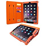 Snugg - Leather Case with Stand Function and Stylus Pen for iPad Mini