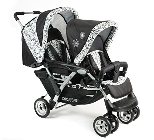 Carrito de bebé para gemelos CHIC 4BABY DUO