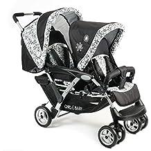 CHIC 4 Baby Carrito Duo Incluye Baby Bolsa de transporte y de lluvia, varios.