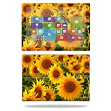 Mightyskins Protective Vinyl Skin Decal Cover for Microsoft Surface Pro 3 Tablet Skins wrap Sticker Skins Sunflowers