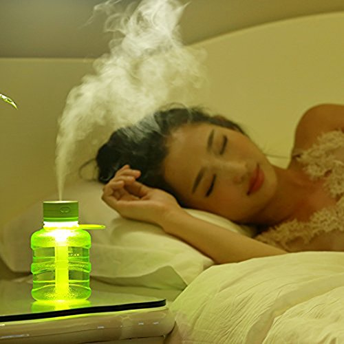 PAGALYetrade humidifier Desk Humidifier LED Night Light for Car and Room Cool Mist Humidifier