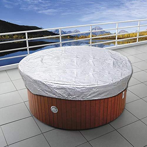S-tubit Cubierta Antipolvo de Piscina Cubierta de bañera de hidromasaje SPA Exterior Favorable