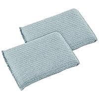 Fackelmann Sponges for the Dishes, Silver, 13 x 8.2 x 1.5 cm