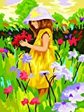 Liliya&& DIY Figuren Kinder Zeichnungen Cartoon Anime Charaktere 40 * 50 Leinen Wand Kunst Bild Kein Rahmen, 40 * 50